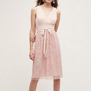 ANTHRO Liefsdottir Pink Lemonade Lace Dress 6, 10